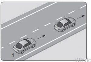 Araç takip mesafesi hesaplama