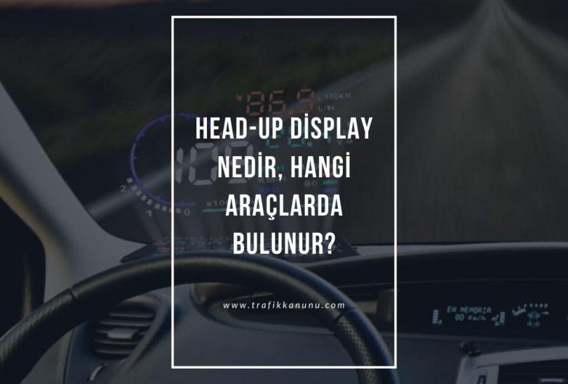 Head-up display nedir?