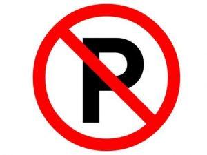 Park etmek yasaktır levhası
