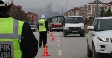 Trafikte makas atmanın cezası